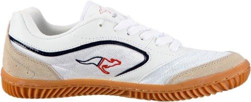 Kangaroos Kennis 71752, Chaussures De Sport D'intérieur Pour Homme Blanc (weiss (blanc / Marine / Rouge))