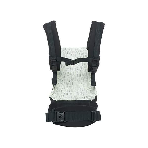 "Ergobaby Baby Carrier Original Downtown, 3-Position Child Carrier Front Back Backpack Ergobaby Ergonomic Baby Carrier - Ergonomic for baby with wide deep seat for a spread-squat, natural ""M"" seated position. Baby carrying system with 3 carry positions:  front-inward, hip and back. From newborn to toddler: 5.5*-20 kg / 12*-45 lbs (* from 3.2-5.5 kg / 7-12 lbs with Infant Insert, sold separately). Maximum wearing comfort - Lumbar support waistbelt (adjustable from 66-140 cm / 26-52 in) that can be adjusted to the height of the carry position. Longer lasting wearing comfort thanks to optimum weight distribution across the wearer's shoulders and hips. 2"