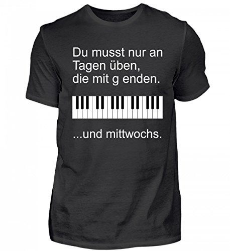 Hochwertiges Herren Shirt - Pianisten Aufgepasst!