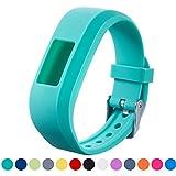 iFeeker Bracelet de Remplacement Garmin Vivofit JR - Bracelet en Silicone Souple pour Bracelet pour Montre-Bracelet Etui de Protection pour Garmin Vivofit Jr. Activité Tracker Junior Kids