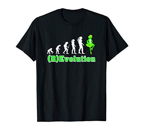 Revolutions Kostüm Tanz - Revolution des Gardetanz Fun shirt als Kostüm im Karneval