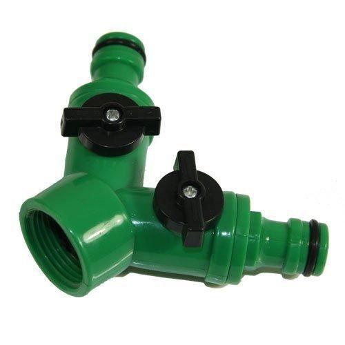 Generic O-1-o-3694-o Ale Ada pour robinet de jardin ou adaptateur de connecteur Tuyau d'arrosage Splitter Ctor AD robinet ou adaptateur mâle deux WA Two Way NV _ 1001003694-nhuk17 _ 1131