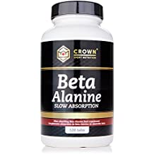 Crown Sport Nutrition Beta Alanina Slow Absorption, Ayuda a reducir la parestesia, Suplemento para