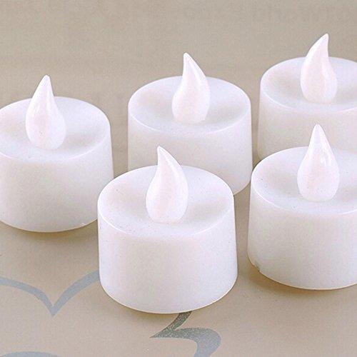 Vela luces, Woopower romántico que cambia de color sin llama parpadeo led té luz velas de cumpleaños boda Proponer fiesta vacaciones de Navidad