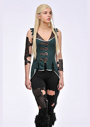 Womens Legolas Stil Elfe Kostüm XS (Niedliche Kostüme Fancy Ladies Dress)