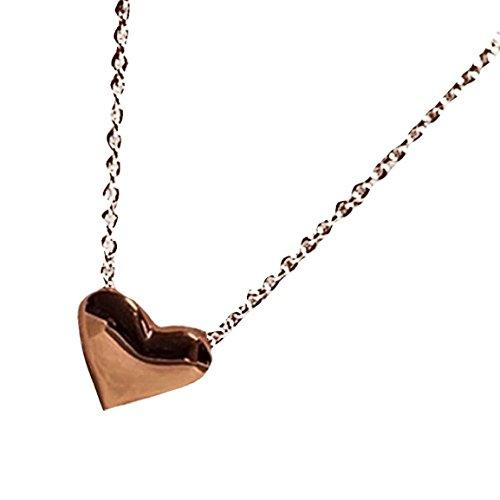 Moonuy Damen Halskette 2018 Mode Gold Herz Bib Anweisung Vintage Kette Anhänger Halskette Charme Schmuck -