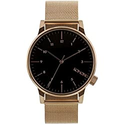 Komono Winston Royale Men's Watch - Rose Gold - Black, One Size