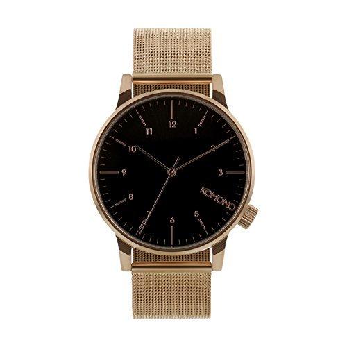 komono-winston-royale-reloj-de-pulsera-para-hombre-de-oro-rosa-negro-talla-talla-unica