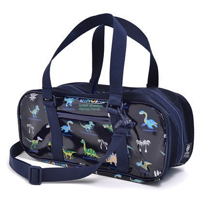 Large set kids paint bags rated on style dinosaur king (only bag) is (navy) made in Japan N2103000 (japan import)