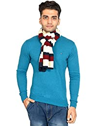 513 Aran/Striper Knitted Wool/Acrylic Men's Muffler