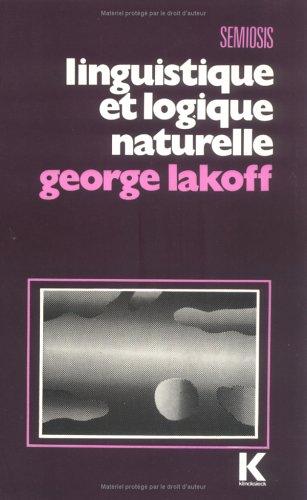 Linguistique et logique naturelle