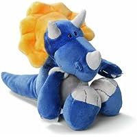 Nici 32194 - Triceratops de peluche (15 cm) [importado de Alemania]