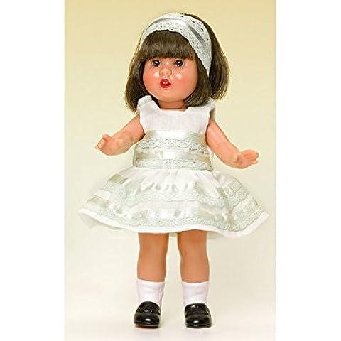 Mini Mariquita Pérez Vestido Beige Fiesta