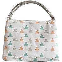 Preisvergleich für YooHome Lunchtasche, Isolierte handliche Lunchtasche, Wasserdichte Picknickkühlbeutel (23 * 14 * 16cm) - Dreieck