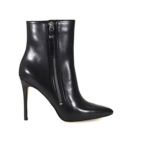 Michael Kors 40F6DWHE5L Ankle Boot Women Leather Black 40.5