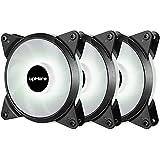 upHere 3-PIN LED Ventilateur pour Boîtier PC 120mm CPU...
