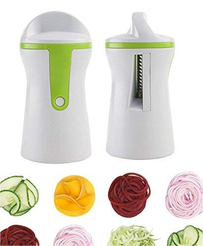 Geruite Handheld-Slicer cutter & Manual Graters Schneidemaschinen, leicht, Curly-Fries frittatas/Salat/garnishes low-carb entrees, und mehr