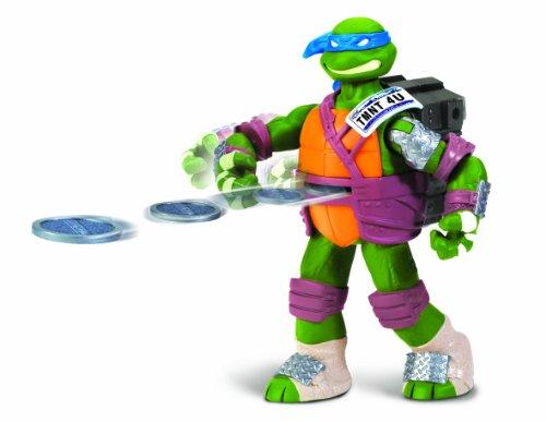 TMNT Teenage Mutant Ninja Turtles Flingerz Actionfigur: Leonardo