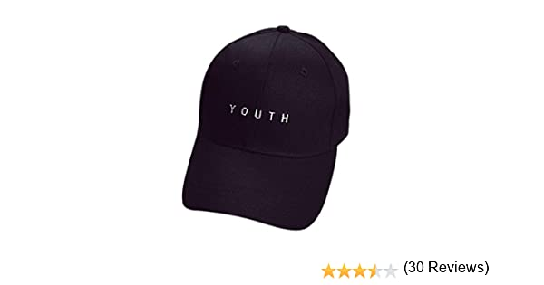 Unisexe Broderie Coton Baseball Cap Gar/çOns Filles Snapback Hip Hop Flat Hat Bonnet Femme Homme Kolylong Casquette