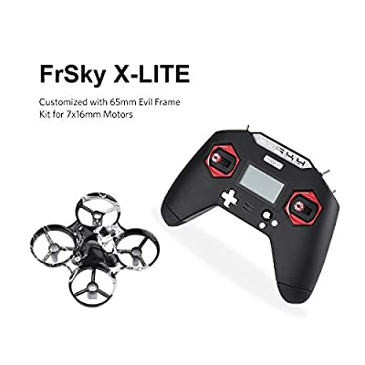 FrSKY Taranis transmitter X-LITE 2.4GHz ACCST 16CH RC Transmitter Black for RC Racing Drone FPV Multicopter