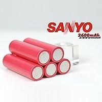 PhilMat sanyo 3.7v 2600mAh ur18650fm 1pcs baterÃa de litio recargable