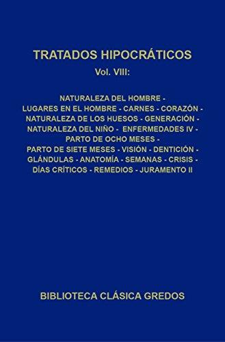 Tratados hipocráticos VIII (Biblioteca Clásica Gredos nº 307) por Varios autores