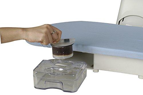 Professional 100HD Hochleistungs-Dampf-Bügelpresse, 101cm (+ GRATIS Ersatzabdeckung & Schaumstoff-Unterfilz und Wasserfilterpatrone) - 5