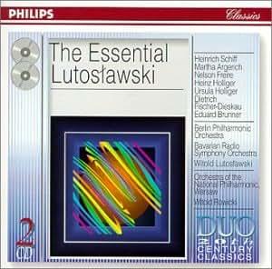 The essential Lutoslawski [Import anglais]