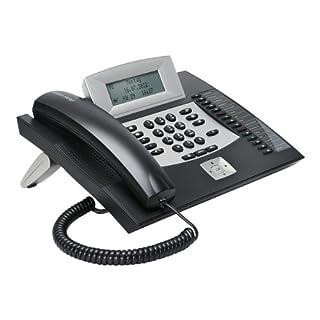 Auerswald COMfortel 1600 Schwarz ISDN Systemtelefon