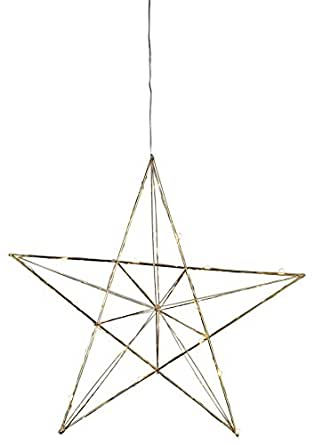 Star Trading 690-70 Suitable for indoor use 20lamp(s) LED Brass - decoration lighting (20 lamp(s), LED, 0.9 W, Brass, Metal, IP20)