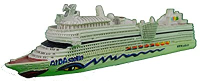 Schiffsmodell Aida stella Miniatur Boot Schiff AIDAstella von muschel-sammler-shop