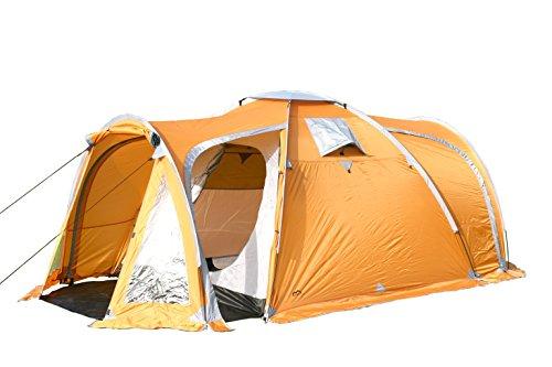 MONTIS HQ VERMONT HILLS Zelt für 2 bis 4 Personen Mann, wasserdicht & ultra-leicht mit Innenzelt, Vordach & Moskitonetz, Premium-Zelt, geeignet als Reise- Trekking- & Camping-Zelte mit Tragetasche