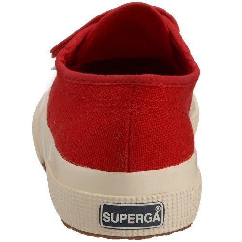 Superga 2750-Jvel Classic, Sneaker a Collo Basso Unisex – Bambini Rosso (Red)