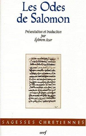 Les Odes de Salomon par Ephrem Azar