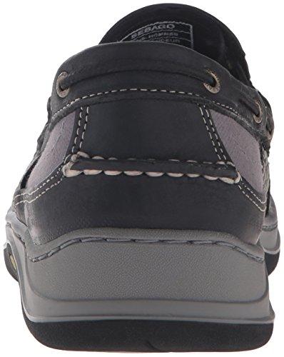 Sebago Mens Clovehitch Slip On Loafer Black Leather