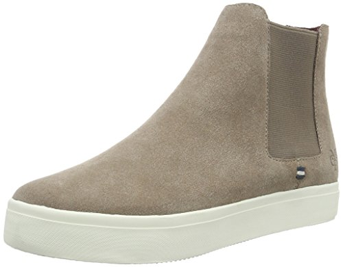 Marc O'Polo Sneaker, Baskets Basses Femme Marron - Braun (Taupe 717)