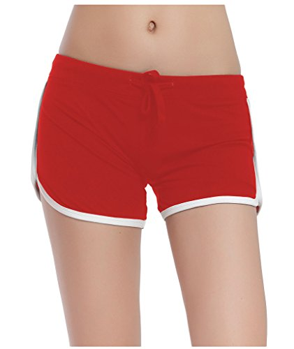 Lotus Instyle Femmes Sport Shorts Shorts red