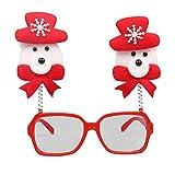 LoveLeiter MäDchen Weihnachten Brillengestell Niedlich Kinder Erwachsene Ornamente Decor Abend Party Spielzeug Weihnachtsdeko Dekoration Geschenk Dekorationen Girls Geburtstags HeißE(F,Freie Größe)