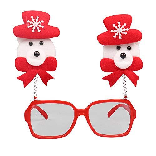 LoveLeiter MäDchen Weihnachten Brillengestell Niedlich Kinder Erwachsene Ornamente Decor Abend Party Spielzeug Weihnachtsdeko Dekoration Geschenk Dekorationen Girls Geburtstags HeißE(F,Freie ()