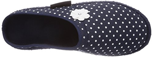 Nanga Jasmina, Pantofole non imbottite donna Blu (Blau (Dunkelblau 32))