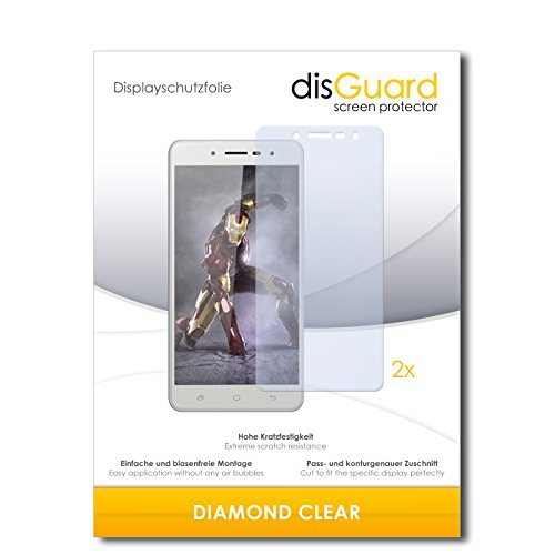 2 x disGuard® Bildschirmschutzfolie Hisense L695 Schutzfolie Folie