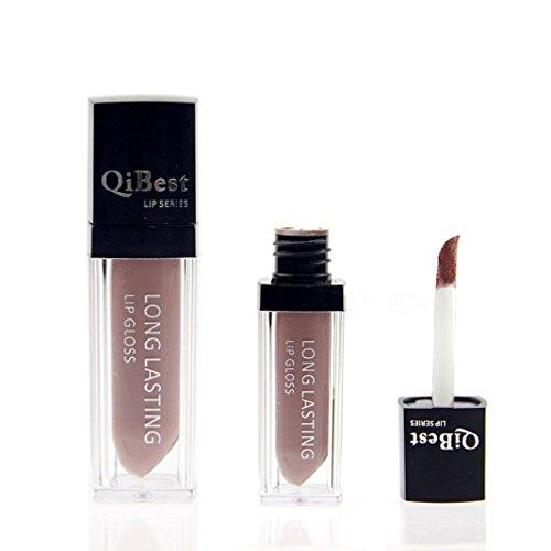 Susenstone Wasserdicht Matte Flüssigkeit Lippenstift Long Lasting Lipgloss Qibest Lippenstift - Machen Nudeln