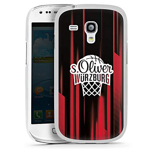 DeinDesign Hülle kompatibel mit Samsung Galaxy S3 Mini Handyhülle Case s. Oliver Würzburg Basketball Merchandise Fanartikel (Samsung Case S3 Mini Basketball)