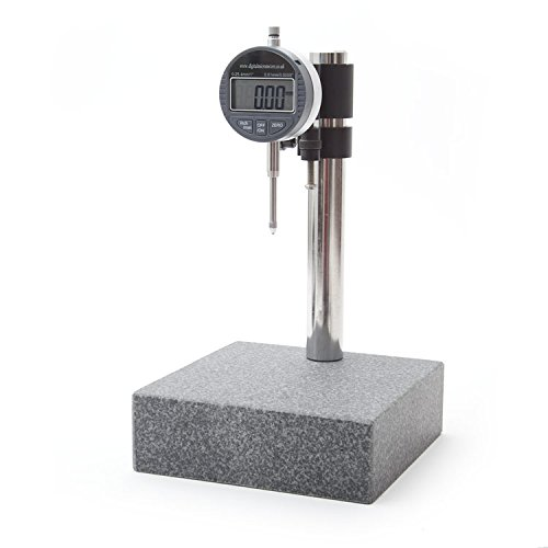 Granite Digital Dial Indicator Comparator Gauge Stand by Digital Micrometers Ltd (Dial Indicator Gauge)
