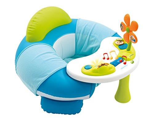 Smoby 110202 - Cotoons Baby-Sitz mit Activity-Tisch, blau