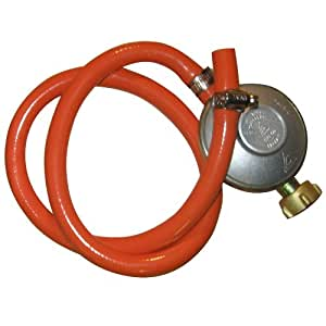 Régulateur et tuyau pour le grill barbecue à gaz 4+1 - adapté pour la France - pression 50 mbar