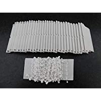 First blinds Vertical blind set 30 bottom weights and chain 89mm (3.5 inches)-Replacement Spares