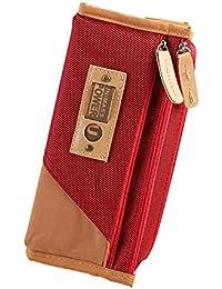 520e19e20 Cupcinu Estuche para lápices, soporte para maquillaje, bolsa de  almacenamiento con gran capacidad de papelería…