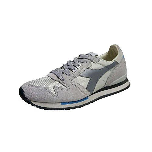 16130501C5799GRAYGRAY Diadora Heritage Sneakers Uomo Tessuto Grigio Grigio
