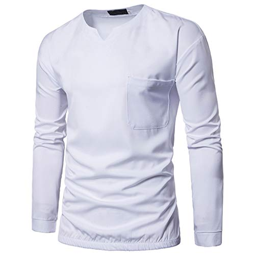 New York Tweed-jacke (Zylione Herren Henley Hemd Shirts Mode Herren Nadel Zeigen Herbst Langarm V-Ausschnitt Top Bluse Herren Hemd 2019 Herbst Lange Ärmel Hemd Regular Fit Freizeithemd Casual T-Shirt Herren T-Shirt Shirt)